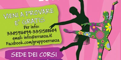 Volatini e Orario Corsi 2018-2019 - Gruppo Erranza Asd